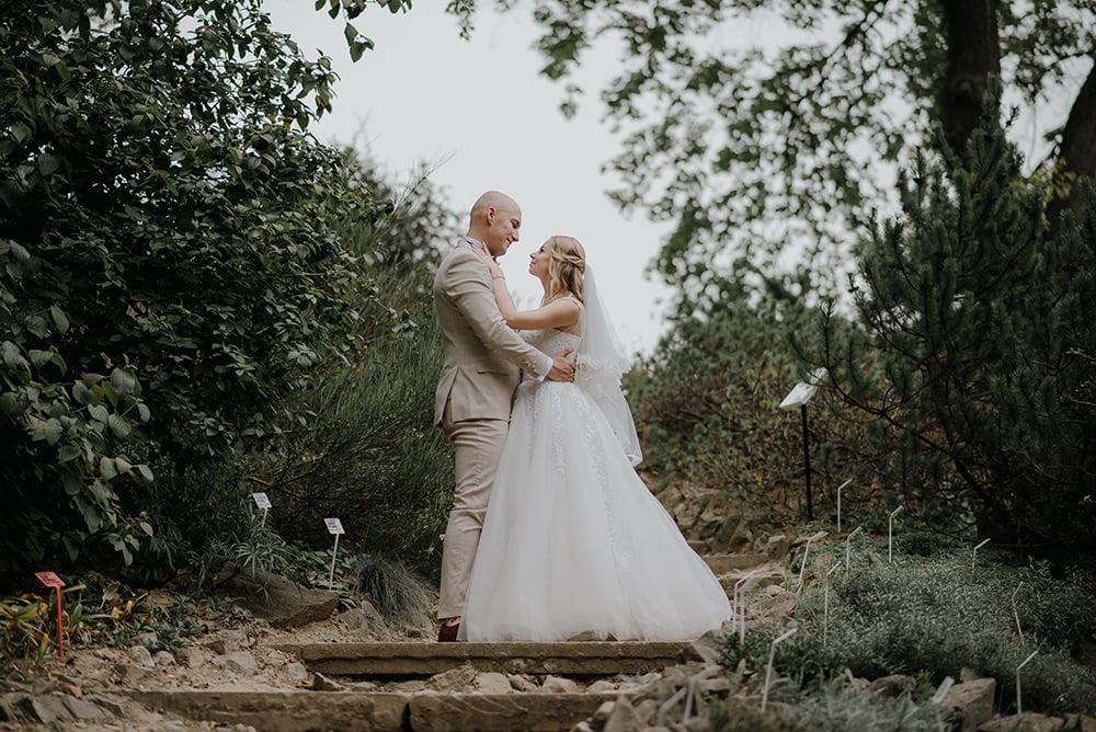 Sesja plenerowa w Ogród Botaniczny, Lublin, fotograf na wesele