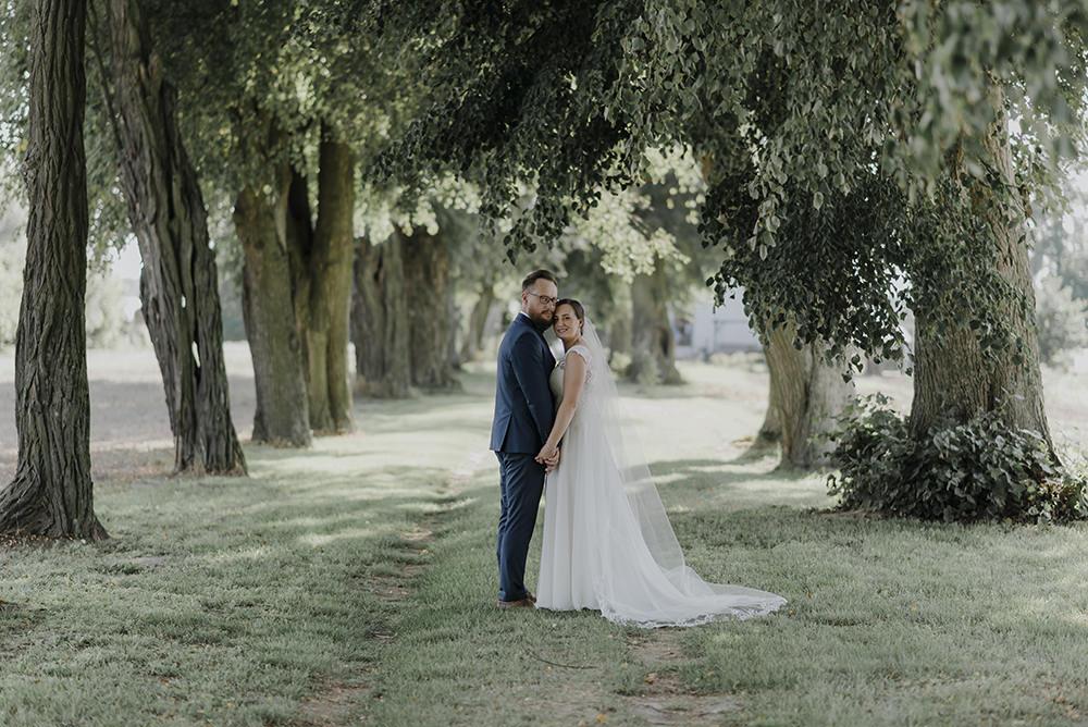 sesja plenerowa w lesie fotograf na ślub