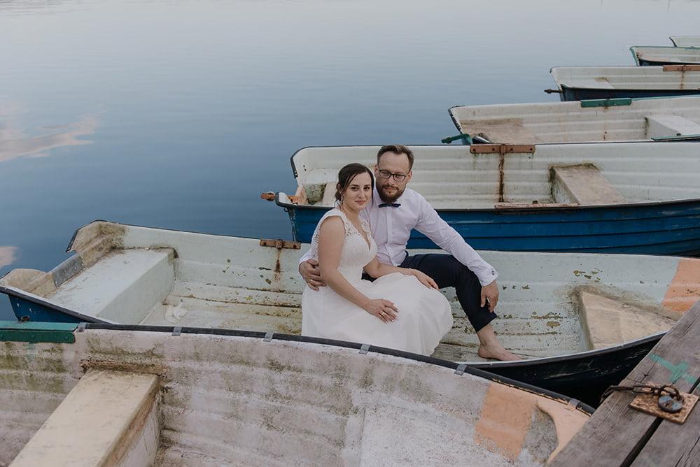 Plener Ślubny Jezioro Piaseczno Fotograf na ślub