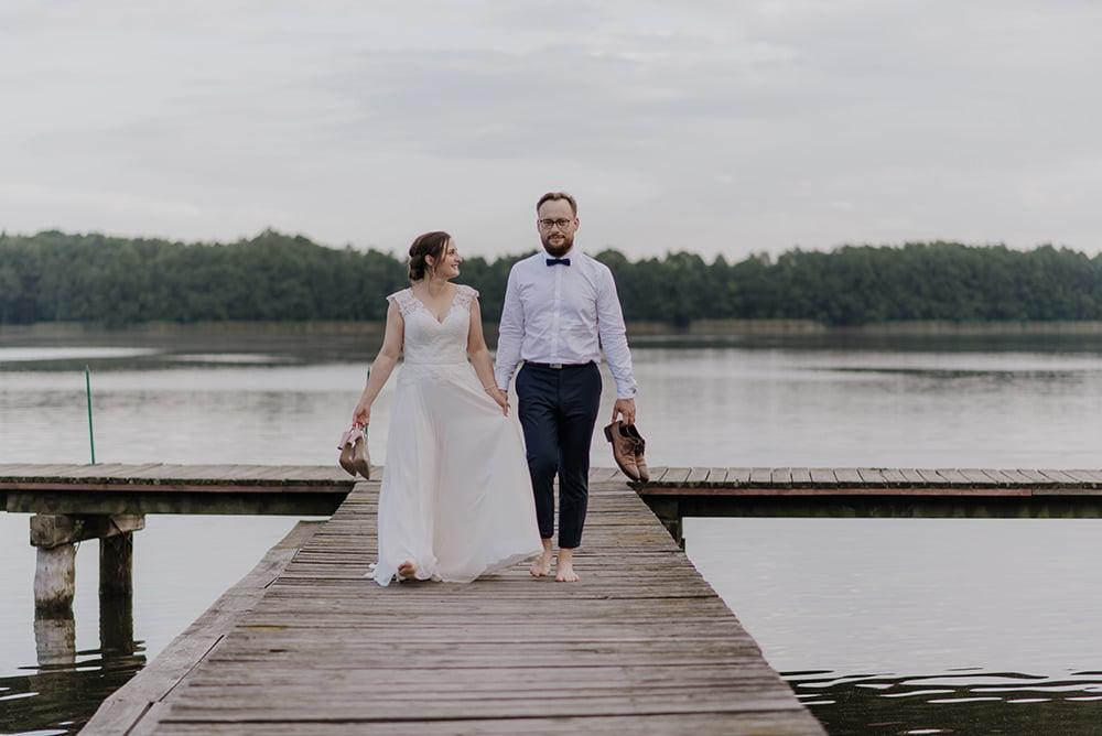 Plener Ślubny Jezioro Piaseczno