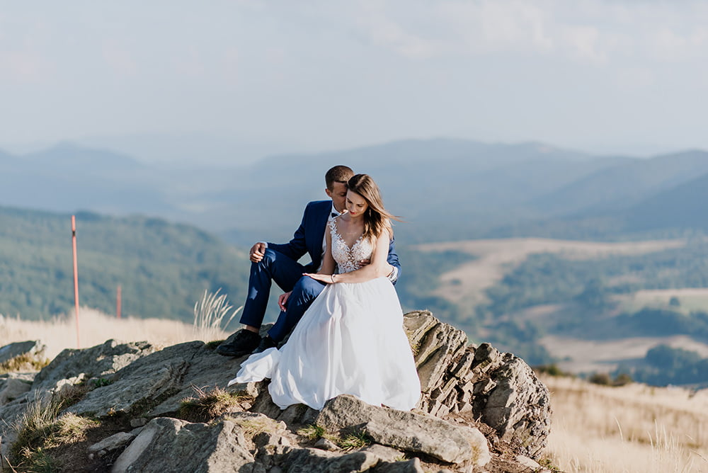 Sesja Ślubna Plenerowa w Bieszczadach fotograf na wesele