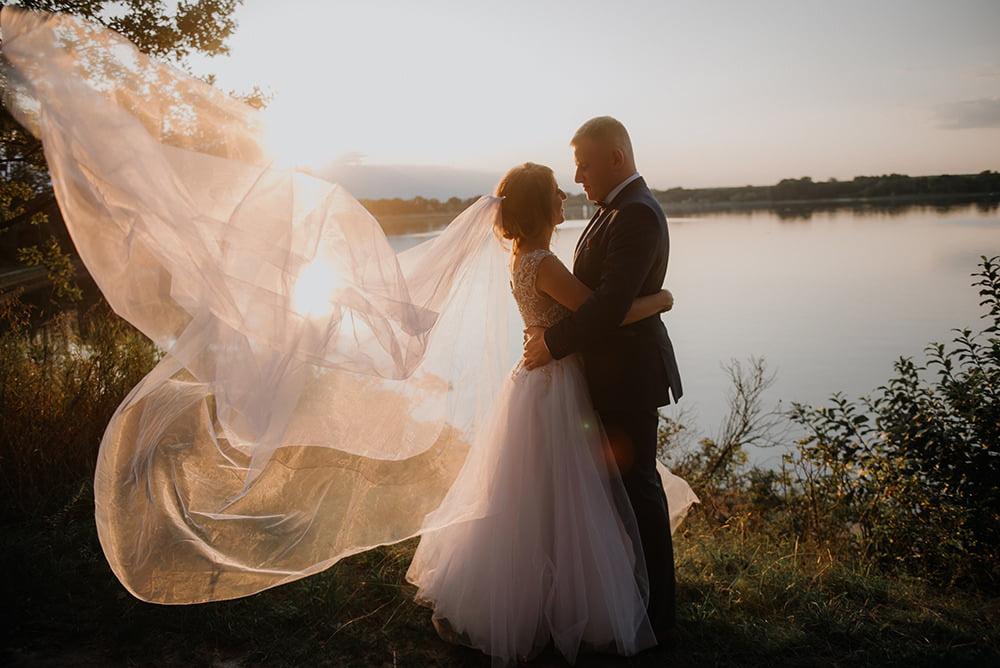 Sesja Ślubna Zalew Zemborzycki fotograf na wesele